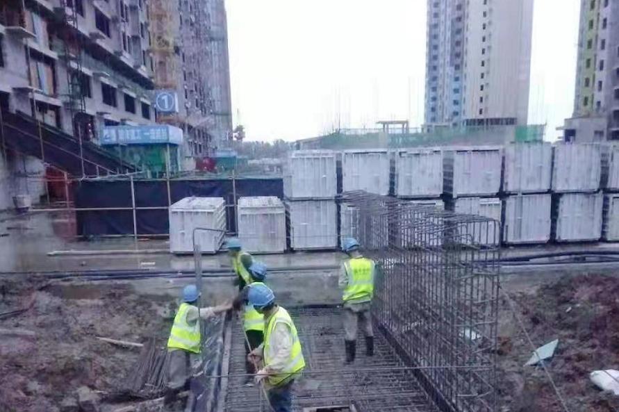 国电中兴电力集团承建的部队统建